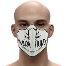 WÜDA HUND ☆Lustige Schutzmaske☆Wilder Hund➤Austria Mehrweg Mundschutz ✔Maske