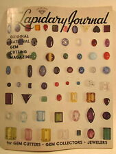 Lapidary Journal Magazine 1965 March Faceted Star and Cat's Eye Gems