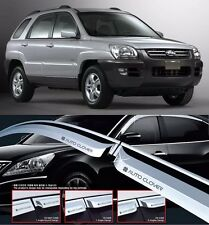 Out-Channel Vent Shade Window Visors Fit Kia Sportage 05 06 07 08 09 10 4pcs