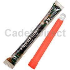 CYALUME chemlight Tactical Military Grade Light Stick 12hrs ROSSO