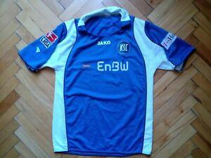 2007/2008 Karlsruhe Germany #6 Carnell Football Shirt Jako 'S' Jersey
