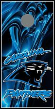 Carolina Panthers 047 cornhole board vinyl wraps stickers posters decals skins
