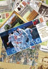 England Cricket Memorabilia. Limited edition stamp issues for Tests and Odis.