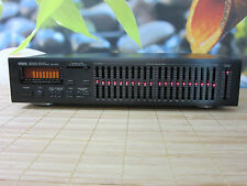 YAMAHA EQ-550 TOP GRAPHIC EQUALIZER. 10 BAND. PINK NOISE. GREAT. SERVICED.