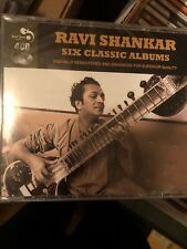 Ravi Shankar~Six Classic Albums BRAND NEW 4 CD BOX SET India Sitar Classic New