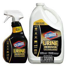 Clorox Urine Remover 32oz Spray Bottle w/ 128 oz refill Cat Dog Pet Odor NEW!