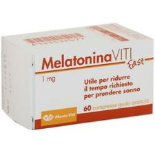 Melatonina Viti Fast per  sonno e jet lag  60 compresse MADE IN ITALY
