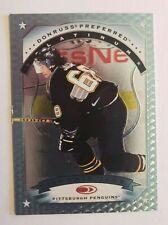 1997-98 DONRUSS PREFERRED PLATINUM JAROMIR JAGR Insert Card # 125 Penguins Mint