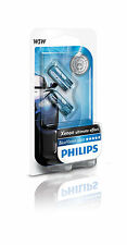 PHILIPS 12961BVB2 Blue Vision Ultra W5W Xenon Ultimate Effect