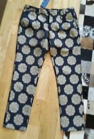 Scotch & Soda Hose Chino 32 / 32 blau gold