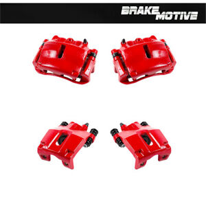 Front And Rear Brake Calipers For 2005 - 2008 Ford F150 Lincoln Mark Lt 4WD 4X4