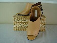 NWOB Coach MacKenzie Women's Shoes Peep Toe Heel Mule Slingback - Size 8.5