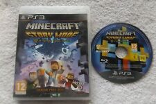 MINECRAFT STORY MODE SEASON PASS DISC PS3 PLAYSTATION 3 V.G.C. FAST POST