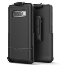 Samsung Galaxy Note 8 Rebel Series Tough Case w/ Belt Clip Holster (Black)