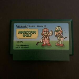 Mario Open Golf - Nintendo Famicom NES NTSC-J Japan 1991 HVC-UG