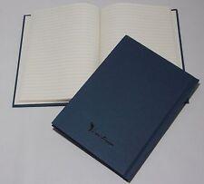 30 A5 Simulation gouverné Note livres. Carbone nuetral Heritage Vintage Bleu couverture.