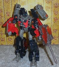 Transformers Dotm FIREBURST OPTIMUS PRIME Complete Voyager Dark Of The Moon