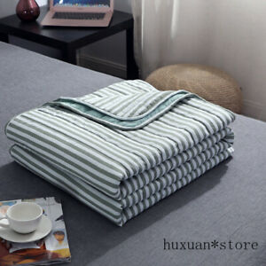 100% Goose Down Summer Comforter Air Conditioner Luxury Cool Thin Quilt Blanket