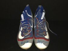 Jeimer Candelario Chicago Cubs Signed 2016 Game Used Cleats Spikes Tigers B