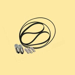 Riemen Lampen für Braun TG 1002 Bandmaschine Tape Recorder