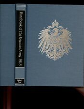 HANDBOOK OF THE GERMAN ARMY IN WAR, APRIL 1918. Battery pr, r/p HB NEW