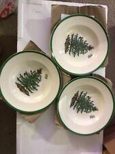 "Spode 9"" Soup Plate Set of 3"