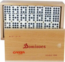 BOARD & TRADITIONAL FAMILY DOMINO GAME DOUBLE NINE IMPERIAL CLUB DOMINOES