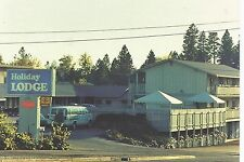 Grass Valley CA Holiday Lodge Continental Postcard c1970