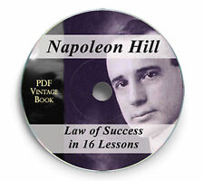 222 Law of Success in Sixteen Lessons Napoleon Hill Book CD Mp3 Audio Napolean