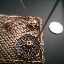 Chic Lotus Shape Incense Burner Holder Censer Plate Stick Cone With 9 Holes U