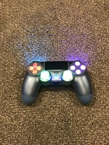 Metallic Themed Playstation 4 PS4 Wireless Custom LED Controller✨
