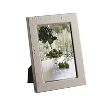 Vera Wang Wedgwood Hammered Silver 5 x 7 Picture Frame. NIB.