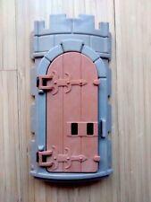 *Playmobil* Mauer Wand gebogen mit Tür *Ritterburg 3666 3667