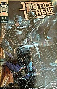 Justice League #1 Jim Lee Silver FOIL 2018 SDCC Exclusive Variant  SEALED