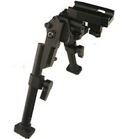 All Aluminum Heavy Duty Bipod Picatinny Weaver Mount