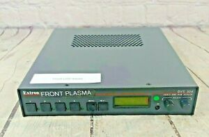 Extron DVS 304 Four Input Video and RGB Scaler  - No Cord, Front LCD Issues