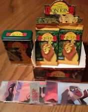 Lion King Trading Cards and Adhesive Bandages Collector's Lot
