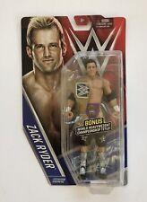WWE Zack Ryder Basic 61 Mattel Figure MOC Chase Figure w Championship Belt