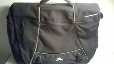 High Sierra Two Pocket/Pouch 17'' Laptop Black Shoulder Messenger Bag
