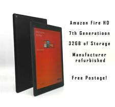 More details for amazon fire hd 10.1 7th tablet with alexa hands-free 32gb (black) free shipping