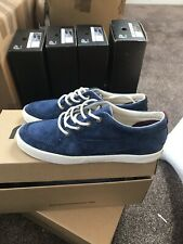 Pointer Blue Suede Trainers Boat Shoes UK9