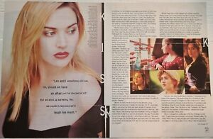 Clippings cuttings - KATE WINSLET  #N-0190 - 7 pages 2 covers