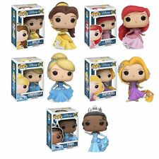 Funko Pop Disney Belle.Cinderella.Ariel.Rapunzel.Tiana 11219.20.21.22.23