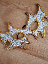 Silver gold glitter sequin Eye Mask Masquerade Party wedding summer Ball