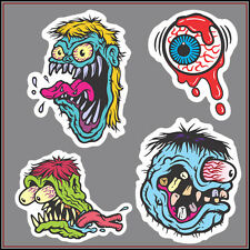 4x Rat Fink stickers decal vinyl bike car ed roth hot rod racing tuning monster