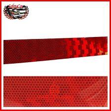 Nastro Adesivo Rosso Riflettente Multiuso Catarifrangente Omologato 5x100 Cm