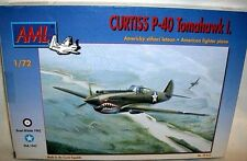 AML 1/72 USAAF CURTISS P-40 TOMAHAWK I FIGHTER PLANE
