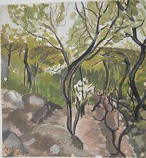 KLARA 1984,Armenian Art,Painting,NORK FOREST Armenia,CLARA AVETISYAN(1962-1998)