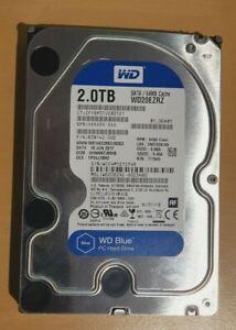 """Western Digital Blue 3.5"""" WD20EZRZ 5400RPM - SATA3 - 2TB HDD Hard Drive"""