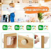 Magnetic No Drilling Cabinet s Kids Safety Drawer Proof Cupboard Keys  ! ! W